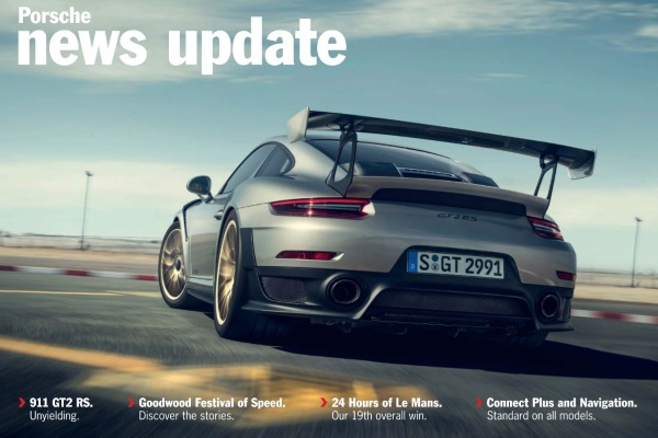 Porsche news update - Edition 2 2017