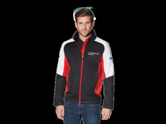 Porsche Motorsport Mens Black Zip Sweatshirt