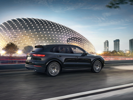 The new Cayenne S.